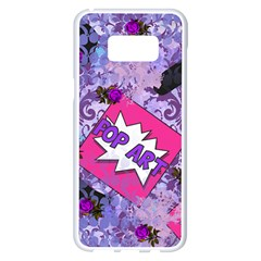 Purlpe Retro Pop Samsung Galaxy S8 Plus White Seamless Case by snowwhitegirl