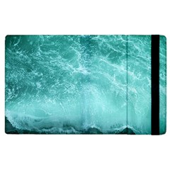 Green Ocean Splash Apple Ipad 3/4 Flip Case by snowwhitegirl