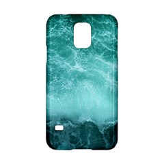 Green Ocean Splash Samsung Galaxy S5 Hardshell Case  by snowwhitegirl