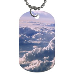 In The Clouds Dog Tag (two Sides) by snowwhitegirl