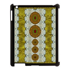 Spring In Mind And Flowers In Soul Be Happy Apple Ipad 3/4 Case (black) by pepitasart