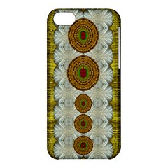 Spring In Mind And Flowers In Soul Be Happy Apple Iphone 5c Hardshell Case by pepitasart