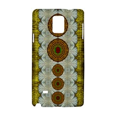 Spring In Mind And Flowers In Soul Be Happy Samsung Galaxy Note 4 Hardshell Case by pepitasart