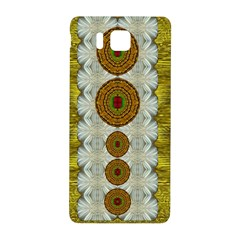 Spring In Mind And Flowers In Soul Be Happy Samsung Galaxy Alpha Hardshell Back Case by pepitasart