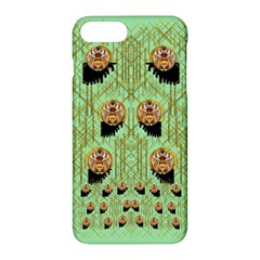 Lady Panda With Hat And Bat In The Sunshine Apple Iphone 7 Plus Hardshell Case by pepitasart