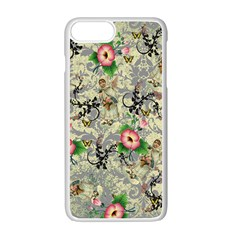 Angel Floral Apple Iphone 7 Plus Seamless Case (white) by snowwhitegirl