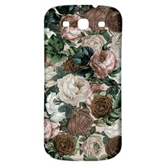Rose Bushes Brown Samsung Galaxy S3 S Iii Classic Hardshell Back Case by snowwhitegirl