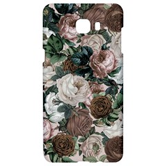 Rose Bushes Brown Samsung C9 Pro Hardshell Case  by snowwhitegirl