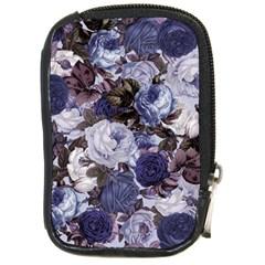Rose Bushes Blue Compact Camera Cases by snowwhitegirl