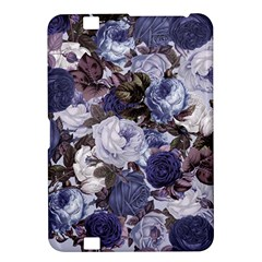 Rose Bushes Blue Kindle Fire Hd 8 9  by snowwhitegirl
