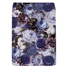 Rose Bushes Blue Flap Covers (s)  by snowwhitegirl