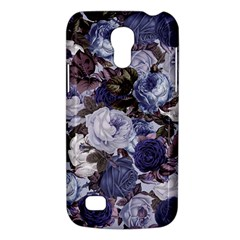Rose Bushes Blue Galaxy S4 Mini by snowwhitegirl