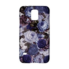 Rose Bushes Blue Samsung Galaxy S5 Hardshell Case
