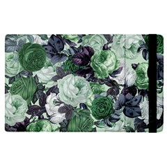 Rose Bushes Green Apple Ipad Pro 9 7   Flip Case by snowwhitegirl