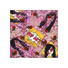 Red Retro Pop Acrylic Tangram Puzzle (4  X 4 ) by snowwhitegirl