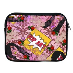Red Retro Pop Apple Ipad 2/3/4 Zipper Cases by snowwhitegirl