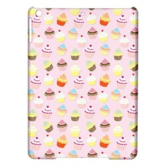 Baby Pink Valentines Cup Cakes Ipad Air Hardshell Cases by PodArtist