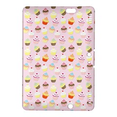 Baby Pink Valentines Cup Cakes Kindle Fire Hdx 8 9  Hardshell Case by PodArtist
