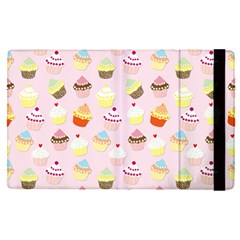 Baby Pink Valentines Cup Cakes Apple Ipad Pro 12 9   Flip Case by PodArtist