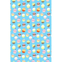 Pale Pastel Blue Cup Cakes 5 5  X 8 5  Notebooks by PodArtist