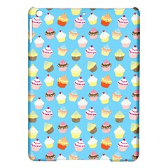 Pale Pastel Blue Cup Cakes Ipad Air Hardshell Cases by PodArtist