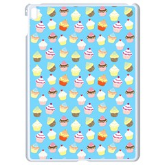Pale Pastel Blue Cup Cakes Apple Ipad Pro 9 7   White Seamless Case by PodArtist