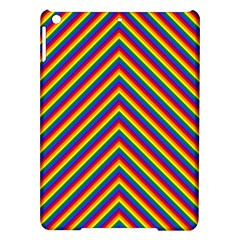 Gay Pride Flag Rainbow Chevron Stripe Ipad Air Hardshell Cases by PodArtist