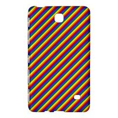 Gay Pride Flag Candy Cane Diagonal Stripe Samsung Galaxy Tab 4 (7 ) Hardshell Case  by PodArtist
