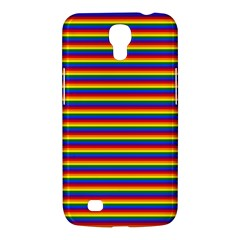 Horizontal Gay Pride Rainbow Flag Pin Stripes Samsung Galaxy Mega 6 3  I9200 Hardshell Case by PodArtist