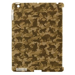 Operation Desert Cat Camouflage Catmouflage Apple Ipad 3/4 Hardshell Case (compatible With Smart Cover) by PodArtist