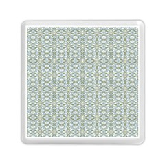 Vintage Ornate Pattern Memory Card Reader (square)  by dflcprints