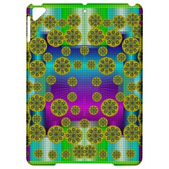 Celtic Mosaic With Wonderful Flowers Apple Ipad Pro 9 7   Hardshell Case by pepitasart