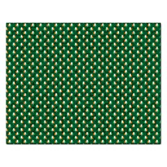 Irish Flag Green White Orange On Green St  Patrick s Day Ireland Rectangular Jigsaw Puzzl by PodArtist
