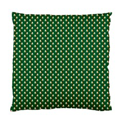 Irish Flag Green White Orange On Green St  Patrick s Day Ireland Standard Cushion Case (two Sides) by PodArtist