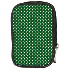 Irish Flag Green White Orange On Green St  Patrick s Day Ireland Compact Camera Cases by PodArtist