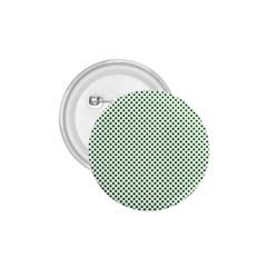Shamrock 2 Tone Green On White St Patrick's Day Clover 1 75  Buttons by PodArtist