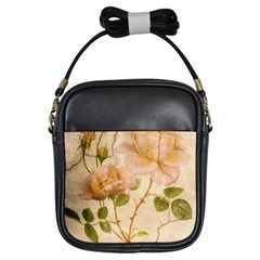 Rose Flower 2507641 1920 Girls Sling Bags by vintage2030