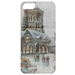 Santa Claus 1845749 1920 Apple Iphone 5 Classic Hardshell Case by vintage2030