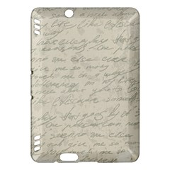Handwritten Letter 2 Kindle Fire Hdx Hardshell Case by vintage2030
