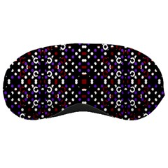 Futuristic Geometric Pattern Sleeping Masks by dflcprints
