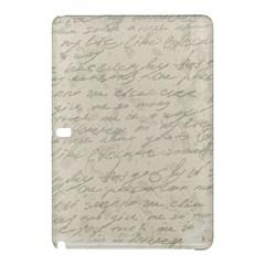 Handwritten Letter 2 Samsung Galaxy Tab Pro 10 1 Hardshell Case