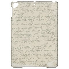 Handwritten Letter 2 Apple Ipad Pro 9 7   Hardshell Case by vintage2030