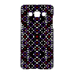 Futuristic Geometric Pattern Samsung Galaxy A5 Hardshell Case  by dflcprints