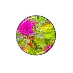 Colored Plants Photo Hat Clip Ball Marker by dflcprints