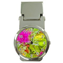 Colored Plants Photo Money Clip Watches by dflcprints