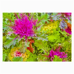 Colored Plants Photo Large Glasses Cloth (2 Side) by dflcprints