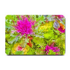 Colored Plants Photo Small Doormat  by dflcprints