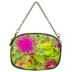 Colored Plants Photo Chain Purses (two Sides)  by dflcprints