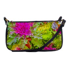 Colored Plants Photo Shoulder Clutch Bags by dflcprints