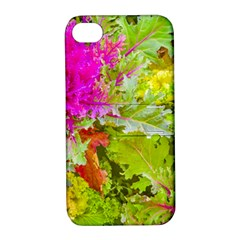 Colored Plants Photo Apple Iphone 4/4s Hardshell Case With Stand by dflcprints